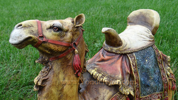 "Seated Camel 27"" Josephs Studio Outdoor Nativity Full Color"