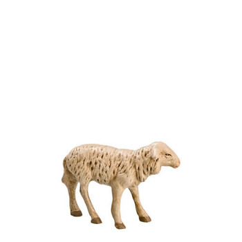 German nativity sheep standing