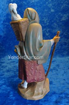 Fontanini nativity scene shepherd