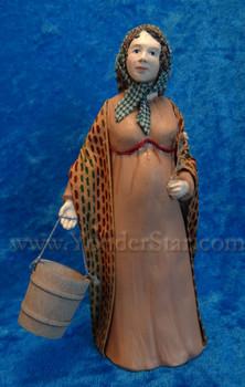 Isabel  - Hestia Companions Nativity Milk Maid - Retired in 2015