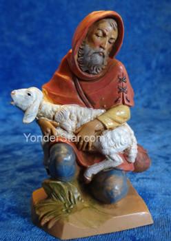 "Jeremiah - 5"" Fontanini Nativity Shepherd Kneeling 52587"