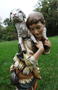 "Shepherd and Sheep for 27"" Outdoor Nativity"