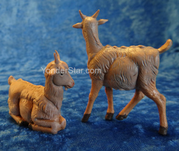 "Goat Set of 2 - 5"" Fontanini Nativity Animals 54030"