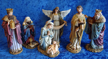 "Joseph's Studio Nativity Scene 7.75"" Tall - 66047"