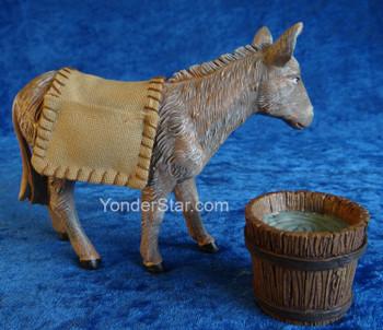 Mary's donkey Fontanini nativity