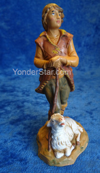 "Paul - 5"" Fontanini Nativity Shepherd Gazing 72688"