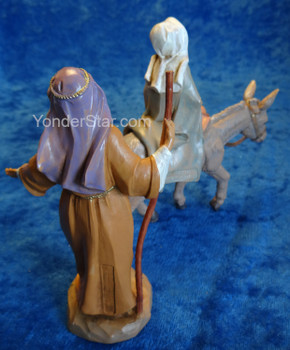 "Journey to Bethlehem - 5"" Fontanini Nativity Holy Family 51502"