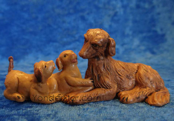 Dogs - Fontanini nativity set