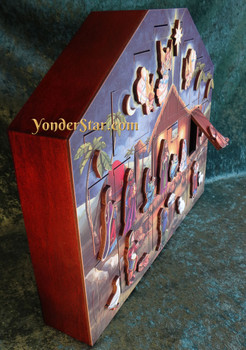 Heirloom Wooden Advent Calendar