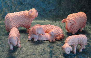 Kastlunger Flock of Sheep for LEPI Kastlunger Wood Nativity