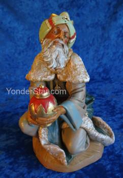 "Gaspar - 12"" Fontanini Nativity King 72915"