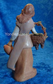 """Bethany - 5"""" Fontanini Nativity Villager w Grapes   57526"""
