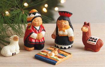 Peru Fair Trade nativity