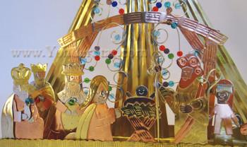 Brilliant Star Nativity Scene