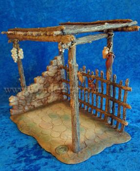 Bazaar - Fontanini Nativity Village Marketplace 55586