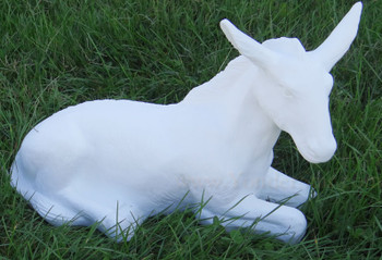 Outdoor Nativity Scene Donkey