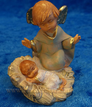 "Talitha - 5"" Fontanini Nativity Angel With Baby 57010"