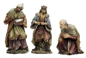 large outdoor nativity wisemen