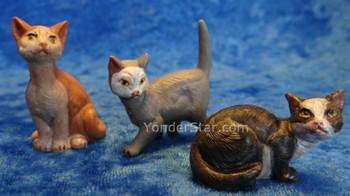 Fontanini nativity cats