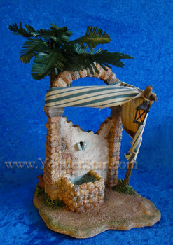 Wall Fountain - 7.5 inch Fontanini Nativity Village 54837