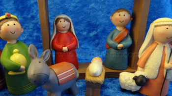 Christmas Pageant Nativity Scene