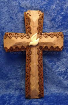 Dove Cross Holy Spirit Representation