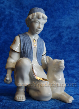 Lenox nativity shepherd boy