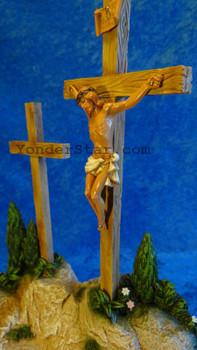 "Crucifixion Scene - 5"" Fontanini Nativity Life of Christ 50628"