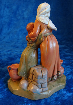 "Darah and Grace - 5"" Fontanini Nativity Mother / Daughter Villagers 54029"