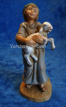 "Silas - 5"" Fontanini Nativity Shepherd Boy 57521"