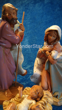 "Holy Family - 7.5"" Fontanini Nativity Set 71811"