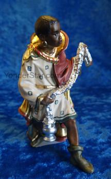 Wiseman Caspar for LEPI Nazarene Nativity Italy