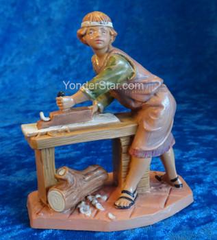 "Herschel - 5"" Fontanini Nativity Carpenter - 59803"