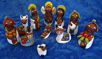 Tilicho Nativity from Bolivia