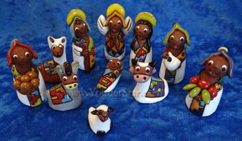 Tilicho Nativity from Bolivia