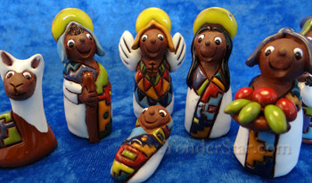 Bolivian Fair Trade nativity