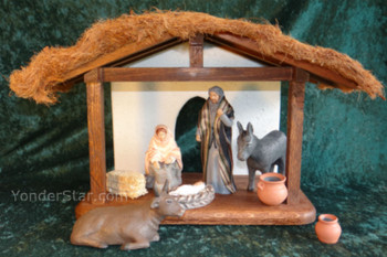 Hestia nativity scene