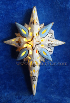lighted nativity star lenox