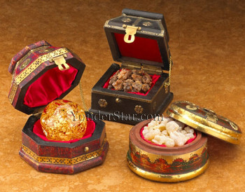 Real Gold, Frankincense and Myrrh Gift Set