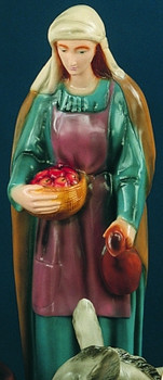 "Shepherd Woman for 36"" Color Outdoor Nativity Set"