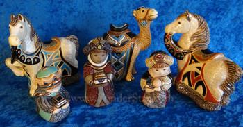 Rinconada Wisemen with animals Uruguay