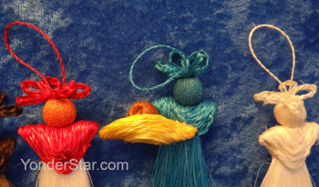 Sisal Fiber Nativity Ornaments from eSwatini