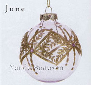 June Birthstone Ornament
