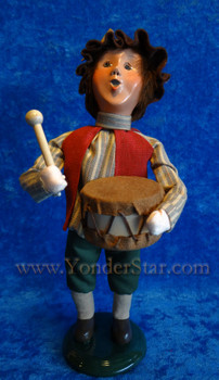 Byers Choice Nativity Drummer Boy