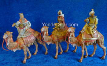 Fontanini kings on camels
