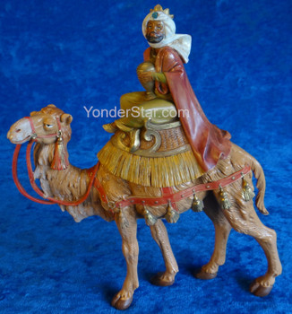 "Kings on Camels - 7.5"" Fontanini Nativity Wisemen 51814"