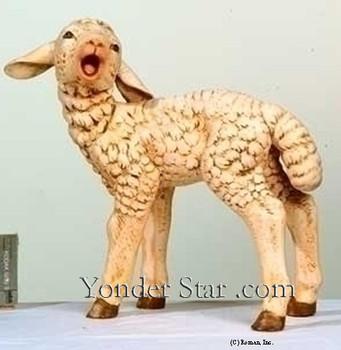 "Fontanini 50"" Scale Lamb - 52337"