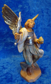 "Uriel - 5"" Fontanini Nativity Archangel 54072"