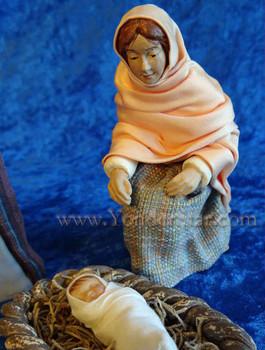Hestia nativity closeup.