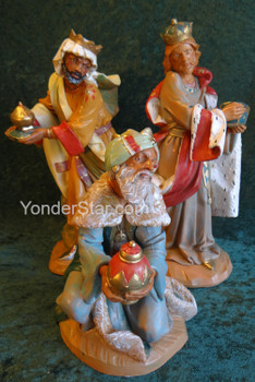 "Wisemen - 12"" Fontanini Nativity Set of Three Kings"